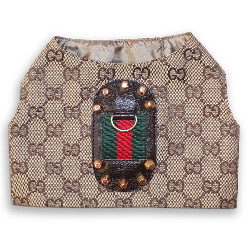 Gucciclassichar on How To Make A Dog Harness Vest