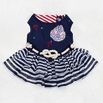 Jet Setter Nautical Resort Dog Dress