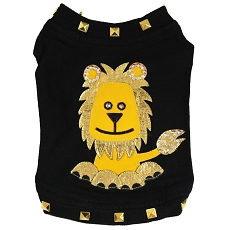 Couture Lion Black Dog T-Shirt