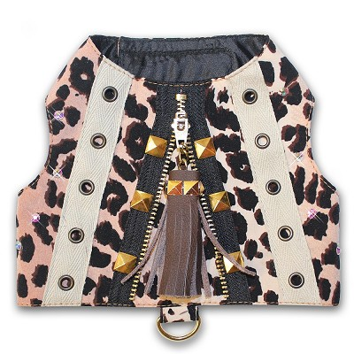 Wild Thing Leopard Dog Harness Vest