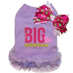 Couture Violet Big Sister Love Dog T Shirt