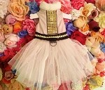 Ice Queen Rockstar Princess Tutu Dog Dress