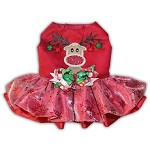 Rudolph The Red Nosed Reindeer Holiday Dog Dress