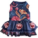 The Dolce Enchanted Flower Dog Dress 1 Size XS