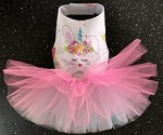 Unibunny Dog Tutu Dress
