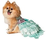 Glitter Ombre Sequin Mint Green Petal Dog Dress