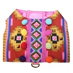 IBIZA Pom Pom Festival Geometric Harness SMALL