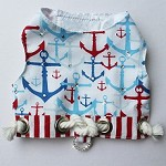 I Will Be Your Anchor Nautical Resort Dog Harness Vest 1 - XXS